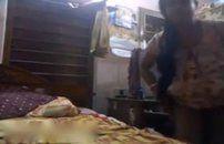 Negra realiza sua fantasia e grava um video porno