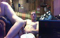 Fodendo namorada na frente da webcam